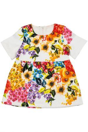 Платье Coco&Wawa. Цвет: белый