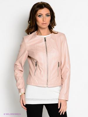 Куртка SAO PAULO. Цвет: бледно-розовый