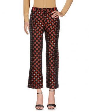 Повседневные брюки SISTER JANE. Цвет: красный