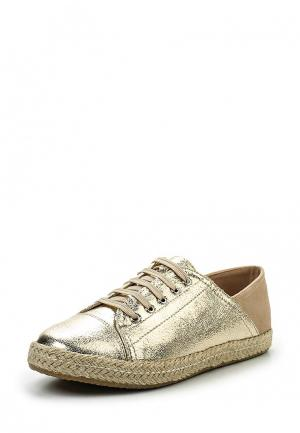 Кеды Sweet Shoes. Цвет: золотой