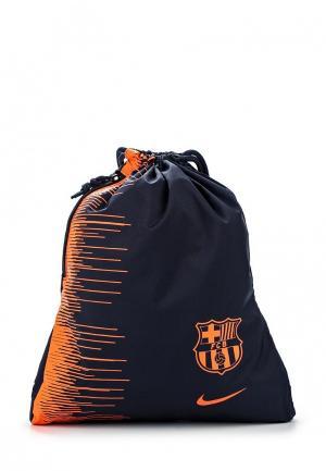 Мешок Nike. Цвет: синий