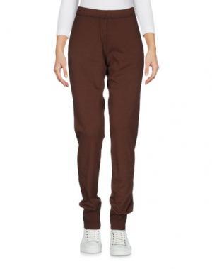 Повседневные брюки ..,MERCI. Цвет: темно-коричневый