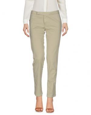 Повседневные брюки DEKKER. Цвет: хаки
