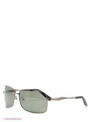 Солнцезащитные очки Selena. Цвет: антрацитовый, темно-зеленый