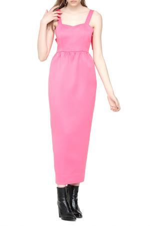 Платье Cyrille Gassiline. Цвет: розовый