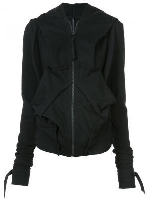 Oversized deconstructed jacket Barbara I Gongini. Цвет: чёрный