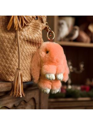 Кролик-брелок GOOD MOOD. Цвет: персиковый