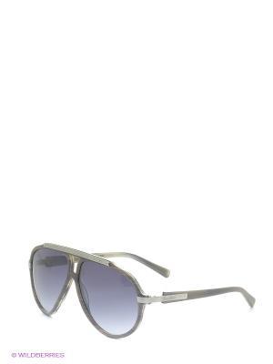 Очки солнцезащитные B 221 C2 Borsalino. Цвет: серо-коричневый