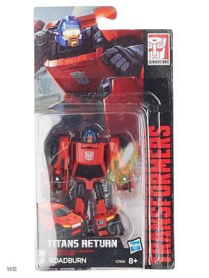 Трансформеры ДЖЕНЕРЭЙШНС: Войны Титанов Лэджендс Transformers. Цвет: черный, коралловый