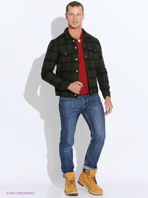 Куртка Levi's®. Цвет: зеленый