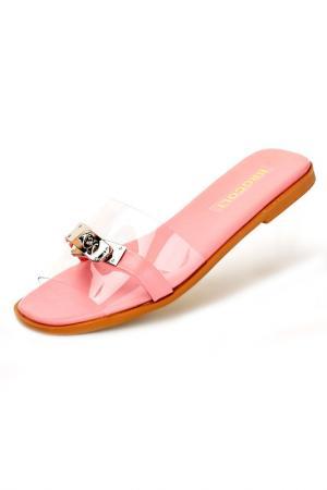 Сабо Brocoli. Цвет: розовый