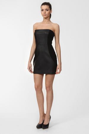 Платье Halston Heritage. Цвет: черный