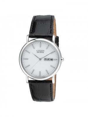 Часы BM8241-01AE CITIZEN. Цвет: черный, серебристый