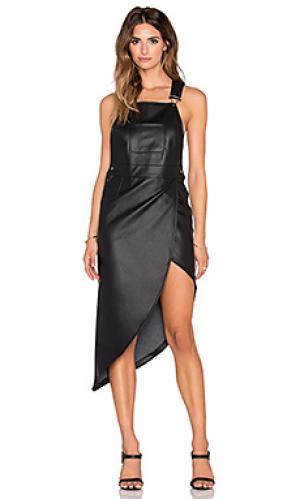 Платье-комбинезон Nightwalker. Цвет: черный