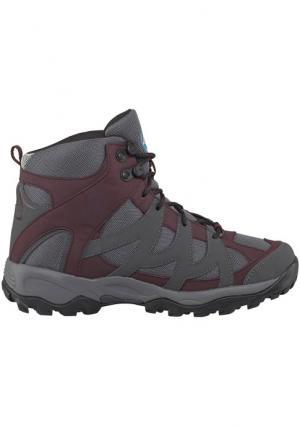 Ботинки Trail High POLARINO. Цвет: бордовый