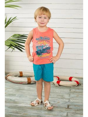 Комплект одежды Sweet Berry. Цвет: коралловый