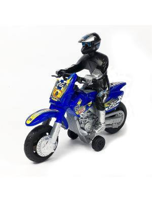 Мотоцикл Азбука Тойс. Цвет: синий