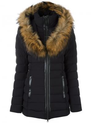 Пуховое пальто Kadalina Mackage. Цвет: чёрный