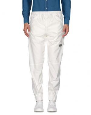 Повседневные брюки HBA HOOD BY AIR. Цвет: белый