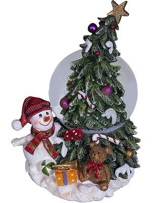 Снежный шар Mister Christmas. Цвет: красный, голубой
