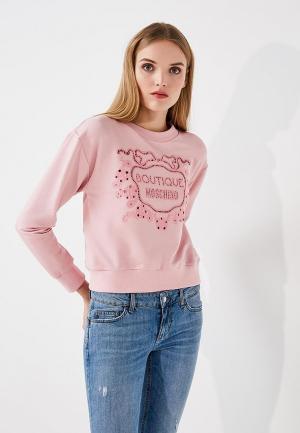 Свитшот Boutique Moschino. Цвет: розовый