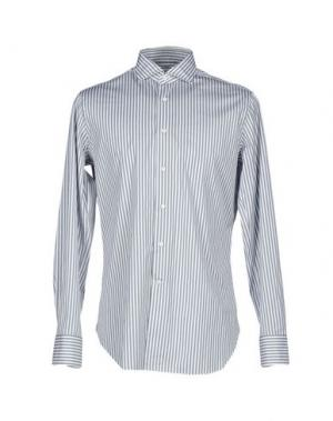 Pубашка ALESSANDRO GHERARDI. Цвет: серый