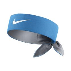 Теннисная повязка на голову  Headband Nike. Цвет: синий