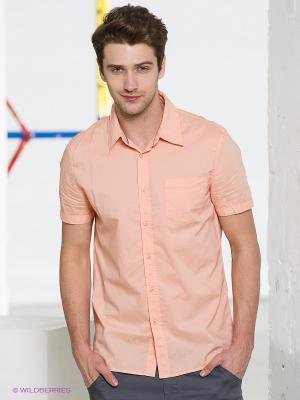 Рубашка Conver Vintage. Цвет: персиковый