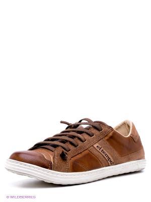 Кеды El Tempo. Цвет: коричневый