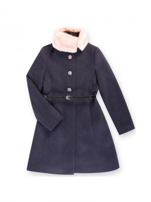 Пальто Stillini. Цвет: темно-синий