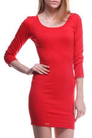 Платье Majaly. Цвет: красный