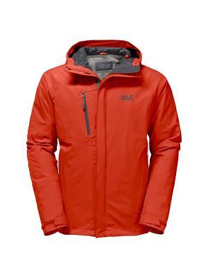 Куртка TROPOSPHERE DF O2+ INS JKT M Jack Wolfskin. Цвет: оранжевый