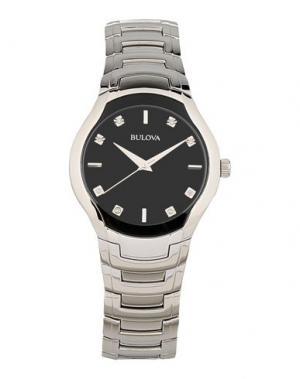 Наручные часы BULOVA. Цвет: черный