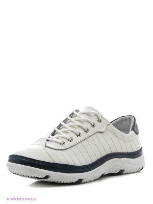 Ботинки ELITE. Цвет: белый, синий