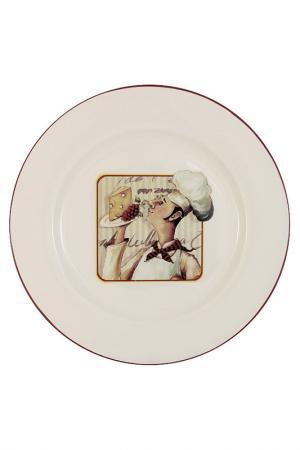 Тарелка обеденная 26 см TERRACOTTA. Цвет: мультицвет