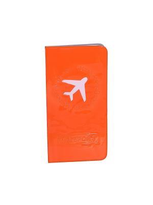 Обложка для документов путешественника Casual Chic. Цвет: оранжевый