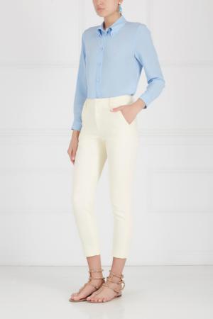 Хлопковые брюки Edition 10. Цвет: желтый