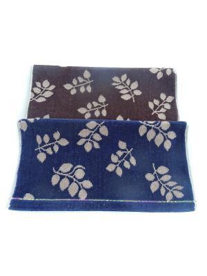 Полотенца банные A and C Collection. Цвет: коричневый, синий