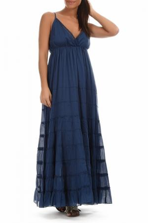 Платье GOA. Цвет: синий