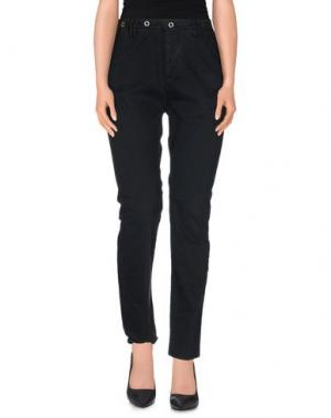 Повседневные брюки JFOUR. Цвет: стальной серый