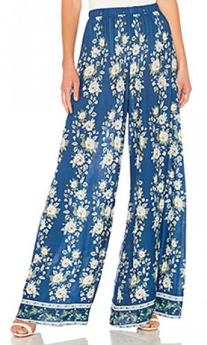 Широкие брюки best Show Me Your Mumu. Цвет: синий