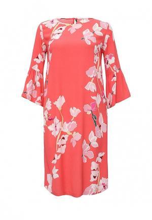 Платье Baon. Цвет: коралловый