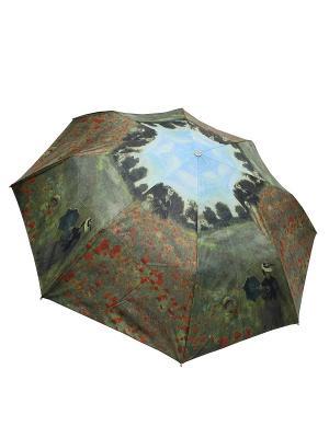Зонт Edmins. Цвет: зеленый, темно-зеленый, терракотовый