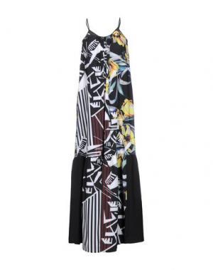 Длинное платье CLOVER CANYON. Цвет: черный
