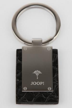 Брелок для ключей Joop!. Цвет: сталь, черный