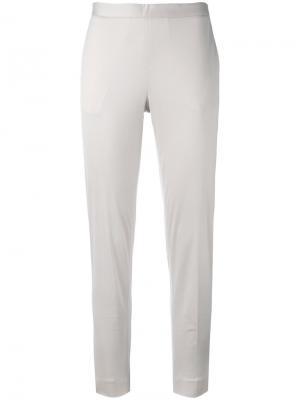 Костюмные брюки Fabiana Filippi. Цвет: серый
