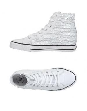 Высокие кеды и кроссовки WOZ?. Цвет: белый