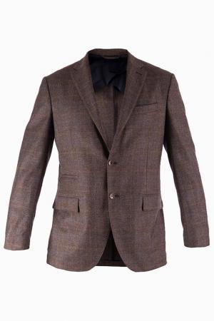 Пиджак LUCIANO BARBERA. Цвет: коричневый