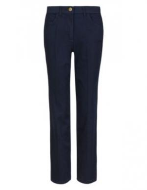 Прямые джинсы со стрелками Classic. Цвет: темный индиго