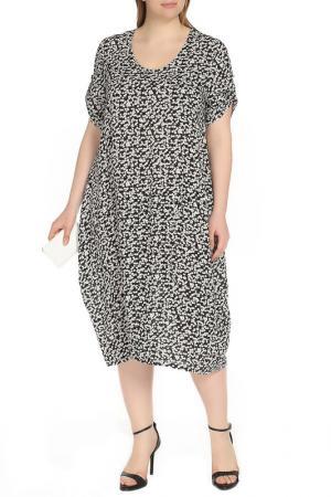 Платье Shalle. Цвет: белый, черный
